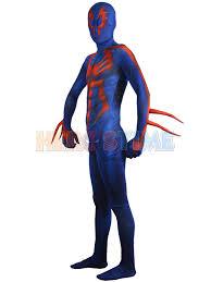 Body Costumes Halloween Spider Man 2099 Costume Halloween Morph Fullbody Suit