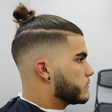 top knot hairstyle men mens hairstyles top knot hair