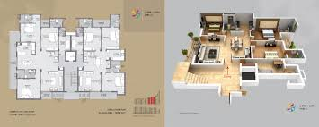 3 Bhk Apartment Floor Plan by Manglam Aananda 2 3 Bhk Flats In Jaipur