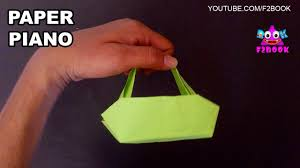 ladies hand bag how to make paper folding craft 108 video