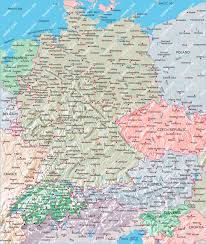 Map Germany by Maps Of Germany And Austria Mexico Map