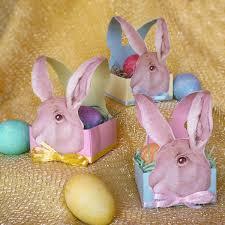easter bunny baskets vintage easter bunny basket simple paper craft basket for your