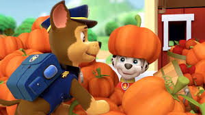 pumpkin patrol paw patrol video clip s1 ep 101