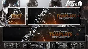 siege social free free gfx rainbow six siege social media rev template pack