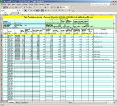 Excel Spreadsheet Turf Tec International Free Downloadable Spreadsheets For