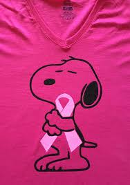 snoopy ribbon griffith designs snoopy pink ribbon hugs