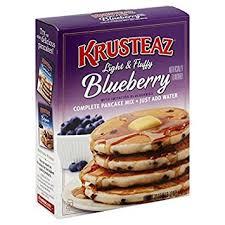 amazon com krusteaz blueberry pancake mix 28 oz pack of 02