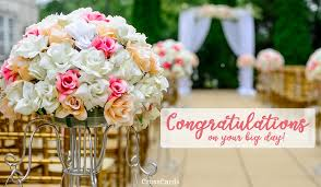 Congratulations On Your Marriage Cards Free Congratulations On Your Big Day Ecard Email Free