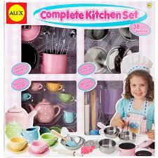 Kitchen Set Toys For Girls Alex Toys Complete Kitchen Set Walmart Com