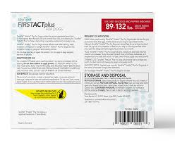 amazon com tevrapet firstact plus flea and tick topical for dogs