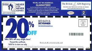 bed bath beyond 20 off bed bath and beyond could be eliminating that 20 coupon wreg com