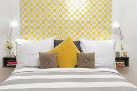 chambre gris et jaune decoration chambre gris et jaune visuel 3