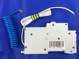 schneider rccb with overcurrent protection rcbo c60hc32r30 1pn 32a