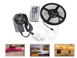 under cabinet led strip lights kit under cabinet counter kitchen tv plasma led strip light kit rgb