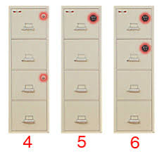 Fireproof Storage Cabinet High Security Lock Options Key Lock Electronic Digital Lock