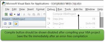 secure vba compiler for microsoft office excel