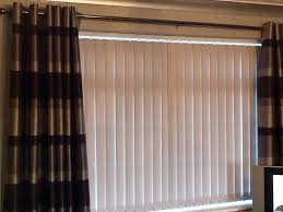 Vertical Blinds For Bow Windows Curtain Rod With Vertical Blinds Curtain Menzilperde Net