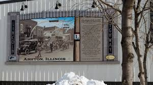 illinois lincoln highway interpretive mural ashton enjoy illinois images