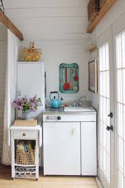 Tiny House Kitchen by This Woman Transformed Her Grandma U0027s Garage Into The Most Charming