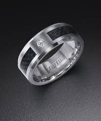 mens wedding rings tungsten tungsten carbide wedding ring with carbon fiber inlay and 05 ct