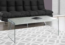 Cement Coffee Table Gray Cement Coffee Table From Monarch Coleman Furniture
