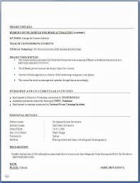 resume formats free 51 luxury images of simple resume format for freshers free
