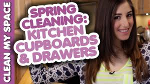 cleaning kitchen cupboards u0026 drawers spring cleaning clean my