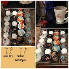 Coffee Hacks by Kitchen Hacks Keurig K Cup Storage