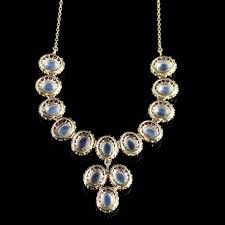 silver necklace ruby images Antique victorian moonstone ruby gold silver necklace c 1900 jpg