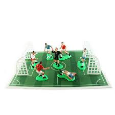 football cake toppers football team footballers birthday cake decoration topper set