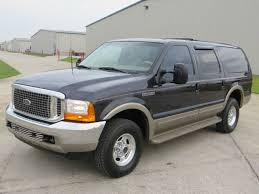 2000 ford excursion 2000 ford excursion limited diesel 4x4 7 3 in houston tx diesel