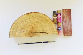 home design diy diy half log bookends