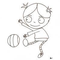 coloriage de chambre de fille coloriage personnages dessin de personnages à colorier