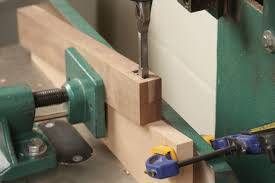 Bench Mortise Machine Wedge Is The Secret To Perfect Angled Mortise And Tenon Joints