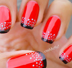 33 black and red acrylic nail designs pics fashion