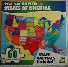 us map puzzle united states puzzle ebay