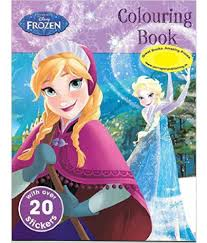 disney frozen colouring book buy disney frozen colouring book