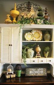 Lighting Above Kitchen Cabinets Elegant Christmas Decorating Ideas For Above Kitchen Cabinets 44