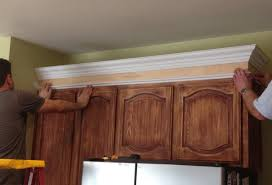 How To Install Kitchen Cabinets Crown Molding by Amiable Installing Crown Molding On Kitchen Cabinet Tags Kitchen