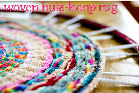 Hoola Hoop Rug How To Diy Projects For Recycling Hoops Hoop Junky Addicted