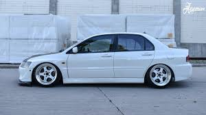 evo stance evo vii on work meister s1 wheels