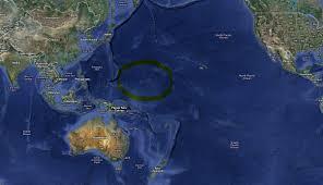 World Map Fiji by Rising Waters Standingoutinmyfield