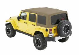 tan jeep wrangler 2 door jeep jk unlimited soft top supertop nx w tinted windows 07 17 jeep
