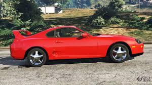 toyota supra side view toyota supra rz 1998 for gta 5