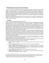 7 methodology development primary research an assessment of