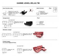 hauteur assise canapé canapé design relax éléctrique compact cuir ou tissu 2 places