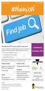 Victoria Jobs Resume by Employment Kensington Neighbourhood House