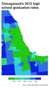 Map Of Chicago Suburbs Struggling Cities And Excelling Suburbs A Repeated Pattern Around