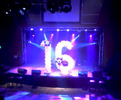 sweet 16 party venues sweet 16 decorations with balloons for a big party sweetsixteen