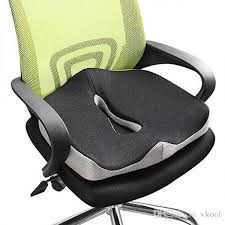 comfort memory foam seat cushion coccyx orthopedic office chair